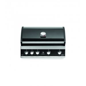 Barbecue gaz à poser ou encastrable Grandhall Maxim GT4 Noir 4 brûleurs