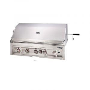 Barbecue gaz encastrable Sunstone Sun Inox 5 brûleurs + 1 rôtissoire