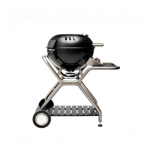 Barbecue gaz OutdoorChef Ascona 570G Noir 2 brûleurs