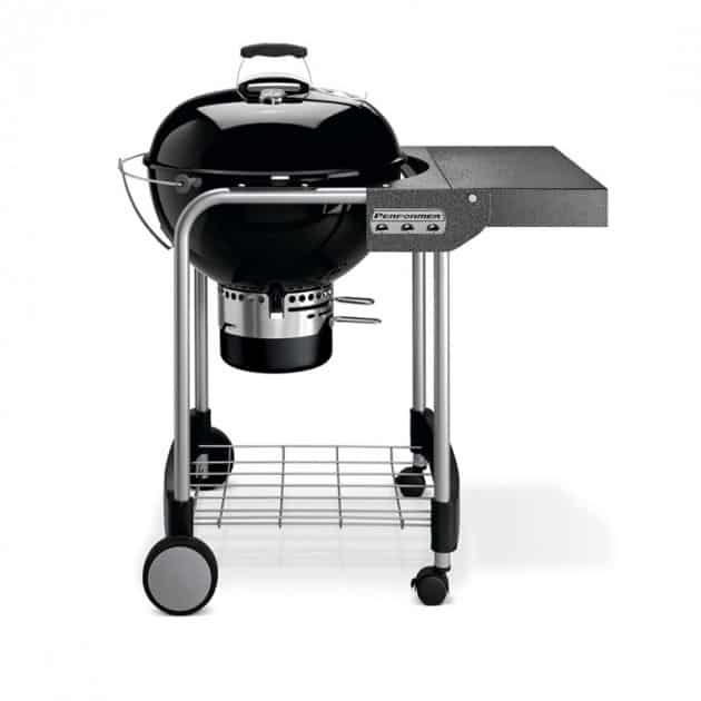 Barbecue kettle charbon 57 Weber Performer GBS 57 cm noir sur chariot