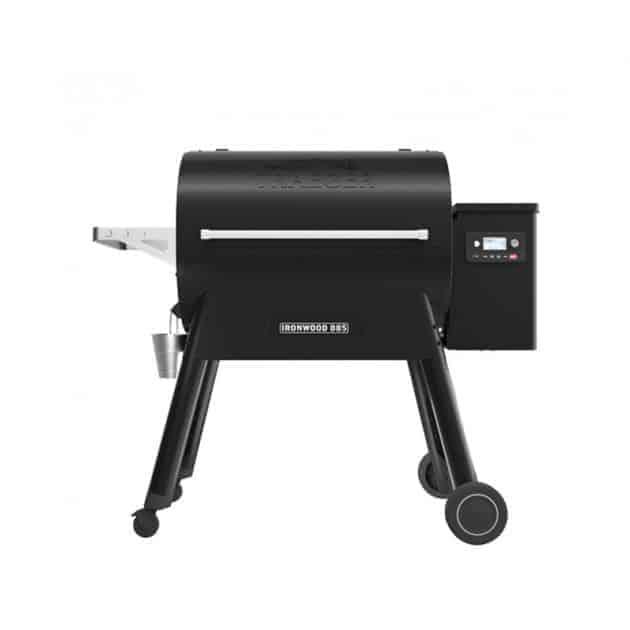 Barbecue fumoir à pellets Traeger Ironwood 885 noir