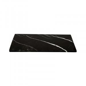 Planche de présentation Stoned en marbre noir 20x40cm