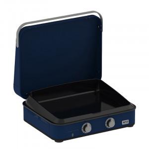 Pack Promo plancha gaz avec capot ENO Enosign 65 blue navy