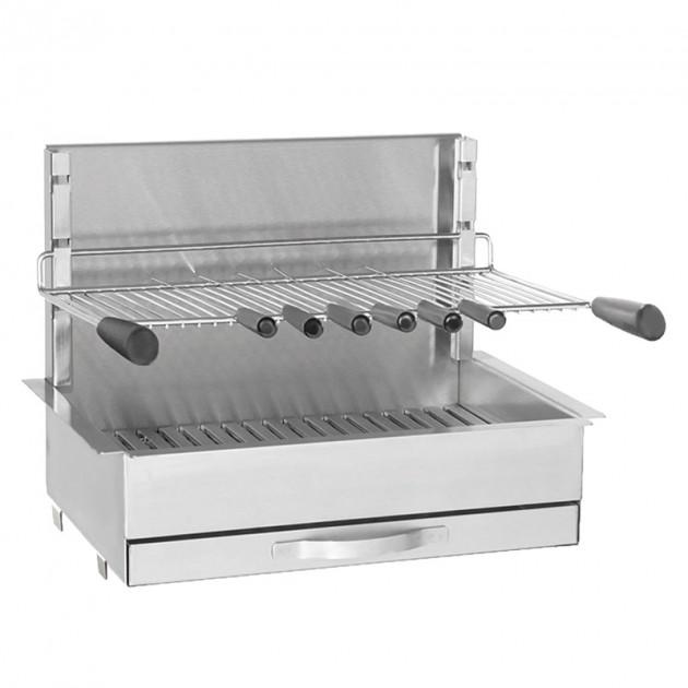 Barbecue grilloir encastrable charbon Forge Adour 961.66