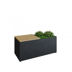 Banc Ofyr Herb garden noir