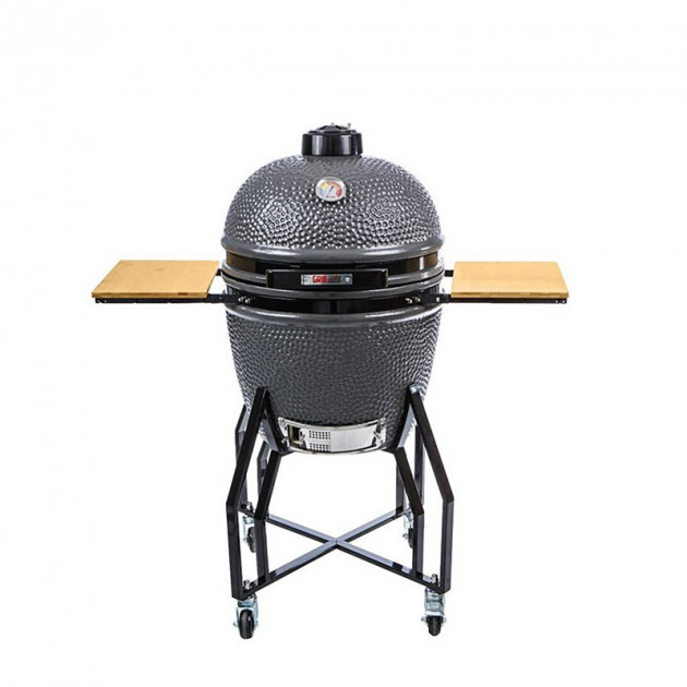Pack system barbecue céramique Grill Guru Large sur chariot
