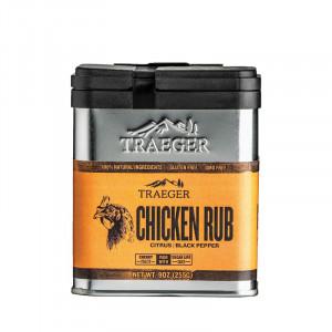 Rub Traeger Chicken - Citron et poivre noir