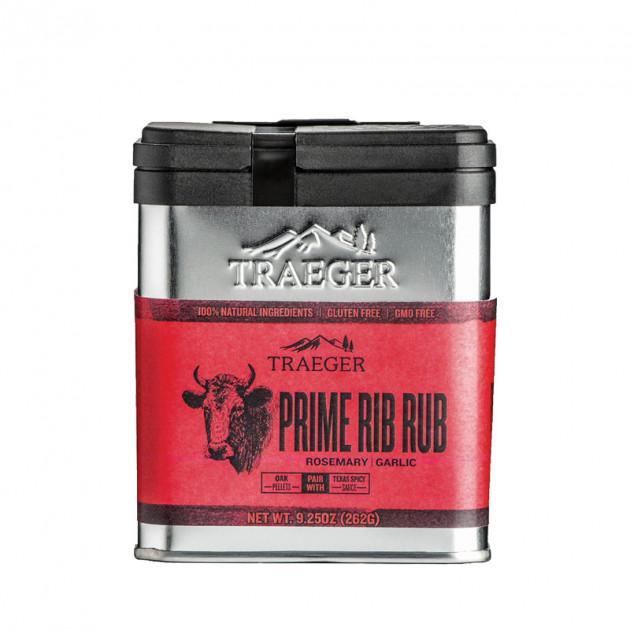 Rub Traeger Prime Rib - Romarin et ail