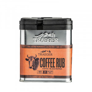 Rub Traeger Coffee - Café et poivre noir