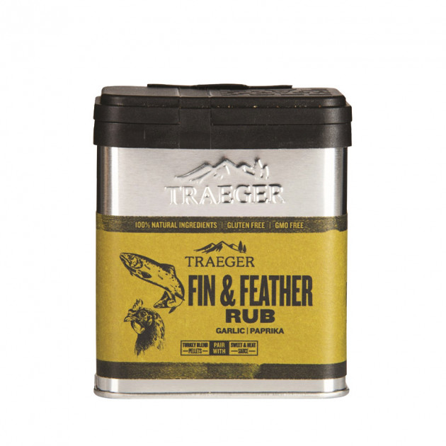 Rub Traeger Fin & Feather - Ail et paprika