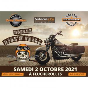 RIDE'N GRILL - Harley Davidson