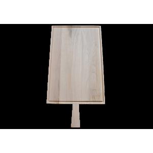 Planche à découper Raumgestalt en chêne avec rigole 53.5x34cm
