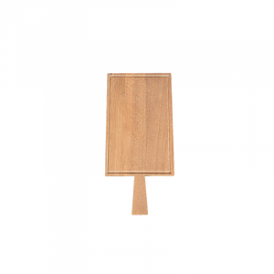 Planche à découper Raumgestalt en chêne avec rigole 33,5x21cm