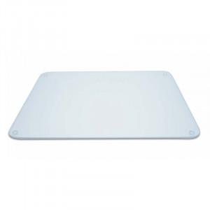Planche à découper en verre transparent Pebbly 50 x 40 cm