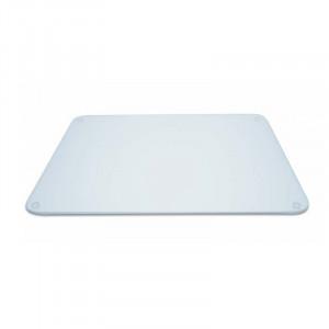 Planche à découper en verre transparent Pebbly 40 x 30 cm