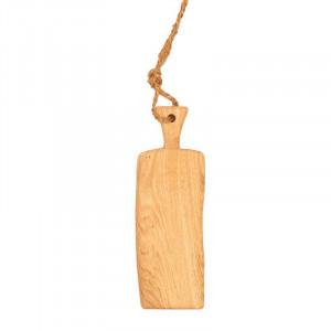 Planche à tapas en chêne massif 47 x 15 cm