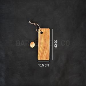 Planche de présentation en olivier 30 x 10,5 cm