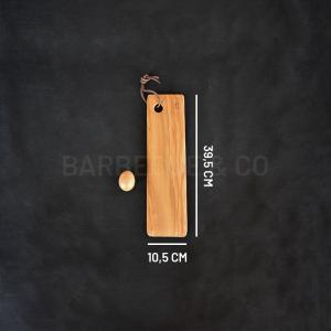 Planche de présentation en olivier 39,5 x 10,5 cm