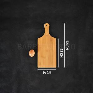Planche à découper en bambou 34 x 14 cm