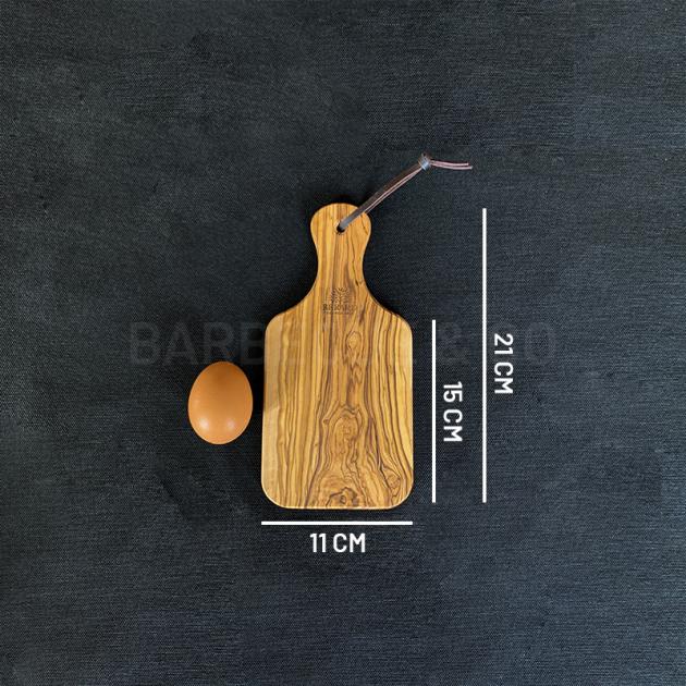 Planche à découper en olivier 21 x 11 cm