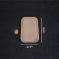 Planche à découper Bérard en hêtre avec rigole et godet 30 x 22 cm
