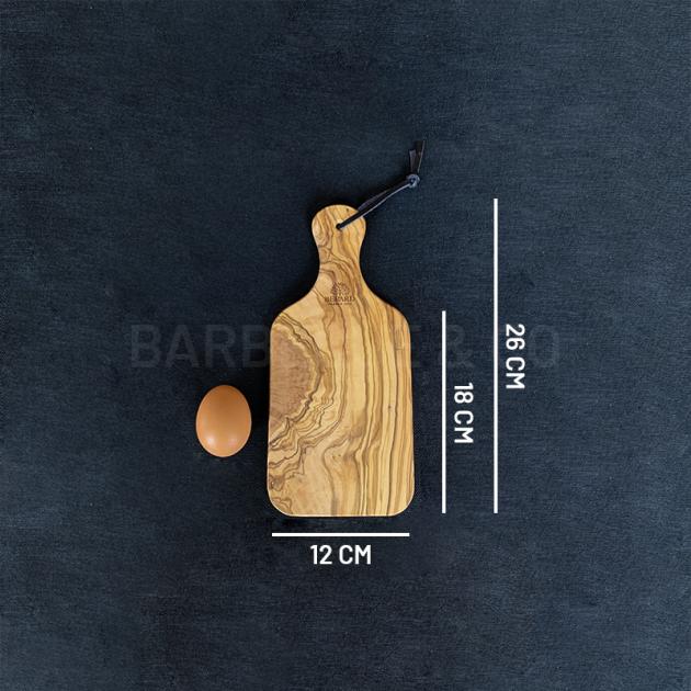 Planche à découper en olivier 26 x 12 cm