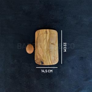 Planche à persil en olivier 22 x 14.5 cm