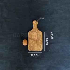 Planche à découper en olivier 29 x 14,5 cm