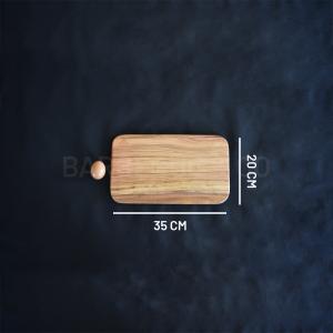 Planche à découper en olivier 35 x 20 cm