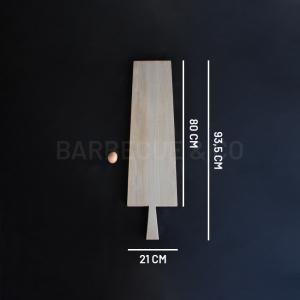 Planche à découper en chêne clair 80 x 21 cm