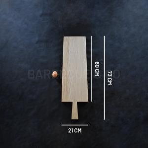 Planche à découper en chêne clair 60 x 21 cm