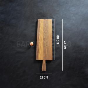 Planche à découper en chêne 60 x 21 cm