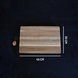 Billot épais en chêne 45 x 30 cm