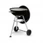 Barbecue charbon de bois Weber compact kettle noir 47 cm