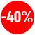 Remise de 40%