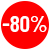 Remise de 80%