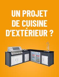 Vous avez un projet de cuisine d'extérieur ?