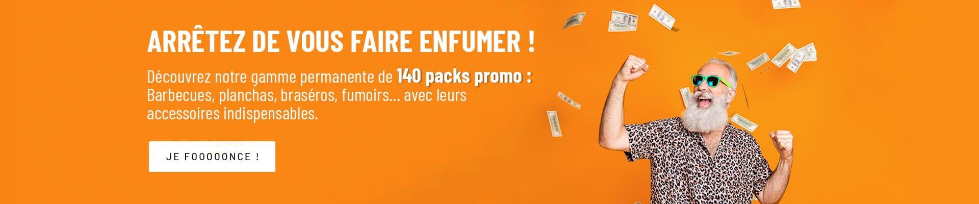 140 Packs Promo