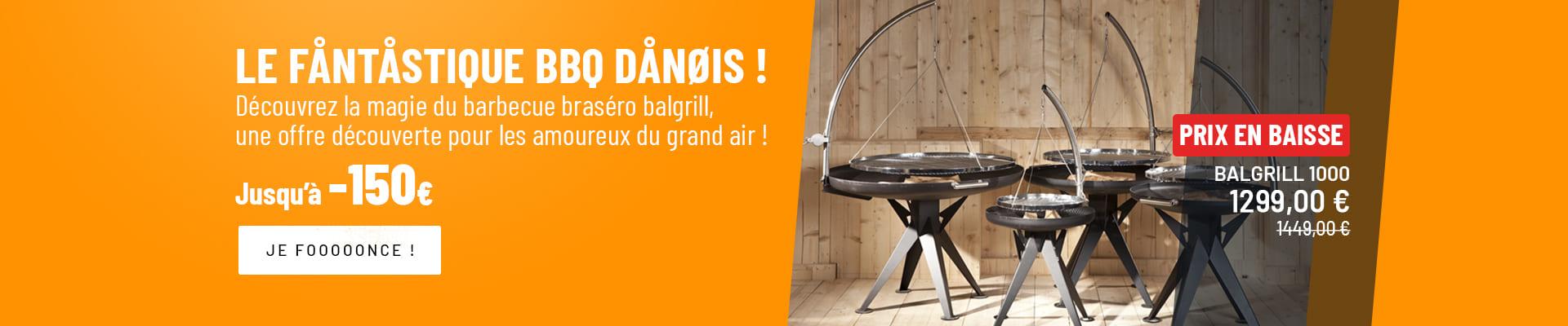 Nielsen - Le barbecue brasero scandinave
