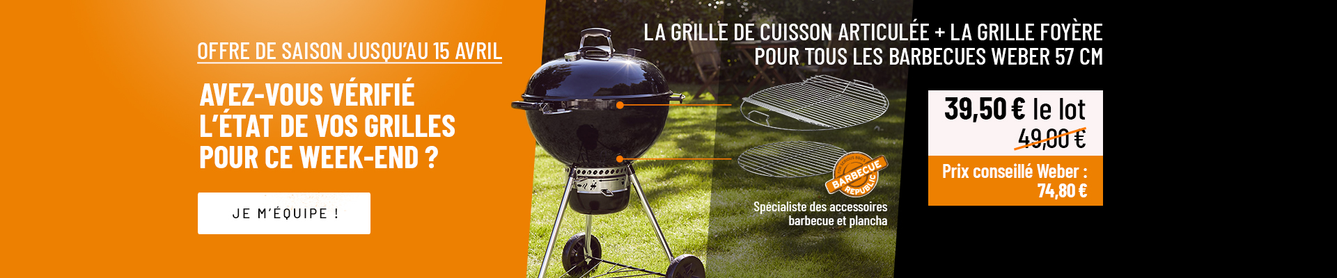 Offre grilles BBQ REP