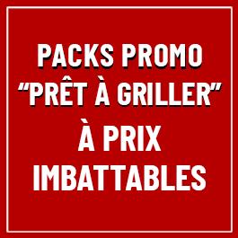 Découvrez nos Packs Promo Prêts à Griller